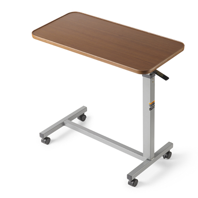 Height-Adjustable Overbed Table by Invacare