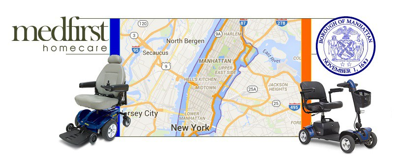 Local manhattan ny hospital beds mobility scooters medical for Motorized wheelchair rental nyc